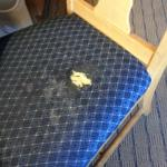 Desk chair in room