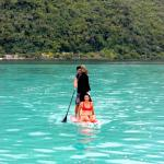Un tour de paddle en couple
