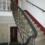 staircase from the Reception to the 3rd floor