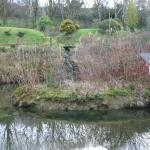 View of one of the three ponds in the gardens