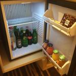 mini bar - chargeable