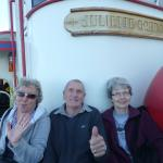 Resting on Our Free Ferry Ride