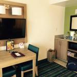 Kitchenette, TV and Eating Area