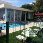 Azulitos kids club. Lots of toys and play areas for kids 6 months and up. Hours of operation are