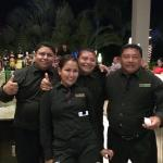 Super Mario Bar Manager and his team