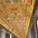 The ceilings in the passage to the Sistine Chapel are incredible.