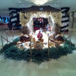 THE NATIVITY SCENE SET UP IN RECEPTION FOR CHRISTMAS