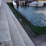 The San Stae stop just a short walk from the hotel and you are at the Grand Canal.