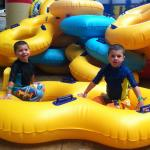 Tube slides for children 6 and under