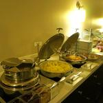 breakfast buffet in excutive lounge