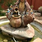 One of many fountains...