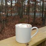 Hot chocolate on a cold day!