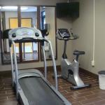 Exercise room. Small but available.