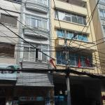 Seventy hotel located in typical street with 'famous' Vietnamese electricity cables