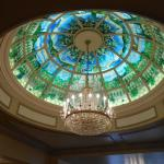 Beautiful ceiling in the foyer
