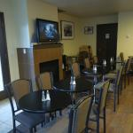 Dining room, get there early