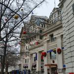 Christmas time at the at the Willard