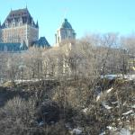 The Château Frontenac, seen from our room (623)
