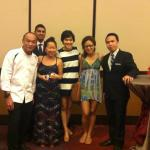 got a chance to have picture with the Executive Chef and other Managers :-)