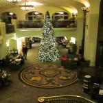 Rundle Lounge during Christmas at the Castle