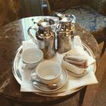 Complimentary in-room coffee service