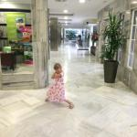 my little madam in hotel reception