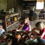 Lunch with a local Mayan family during our Living Maya Experience