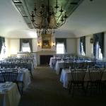 Upstairs dining for functions
