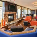 Hotel Lounge & Fireplace