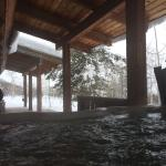 View from the hot tub on the deck (from Bunkhouse)