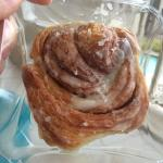 Amazing cinnamon buns from the coffee shop 😊