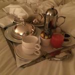 Treat yourself to breakfast in bed!
