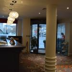 hotel reception and main entrance