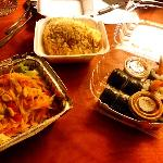 the food from Su i Thai