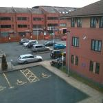 view out to car park