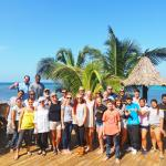seasoned divers, brand new divers - all now part of the Tranquilseas Eco lodge family!