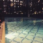 The Pool at night!