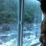 View onto Merced River from family suite (Room 1092)