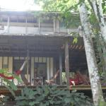 The relaxed hammock and dining area