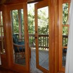 Guava Grove House Master Doors to deck