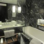 Bathroom - huge sink and tabletop & bathtub