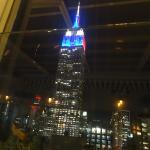 view from rooftop bar.