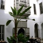 Interior of the riad