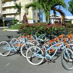 Free Bikes at the Resort