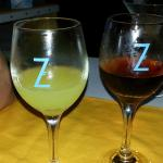 Drinks at Z Seafood next door. Free drink for happy hour
