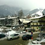 Early Snow Fall - View From Room