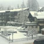 More Snow Fall - View from Room