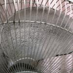 Pedestal Fan with dust on Fan leaves