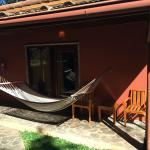 The front of my room with hammock