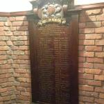 Roll of honour, staircase